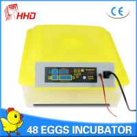 HHD Brand Factory Supply Full Automatic Chicken Egg Incubator/Poultry Hatchery for Sale YZ8-48