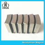 Best N52 Sintered Neodymium Iron Boron Magnet Arc Shaped Custom Size And Shape wholesale