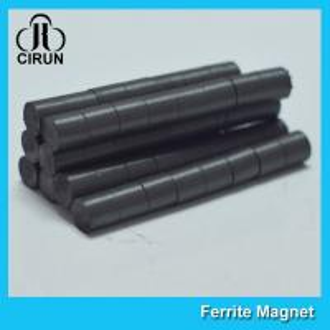 Best Hard Cylinder Ferrite Magnet For Rotors / Fridge SGS RoHS Certification wholesale