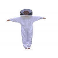 China Terylene Honey Bee Protection Suit Kids Beekeeping Protective Clothing With Round Veil on sale
