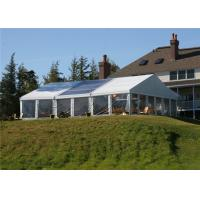 Buy cheap Temporary Tent Building Aluminium Frame Tents 100% Rainproof Canvas Canopy from wholesalers
