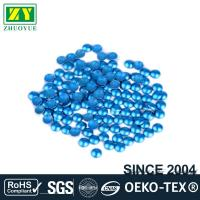 Best Dresses Blue Dome Studs , Shiny Fixing Press Studs Environmentally Friendly wholesale