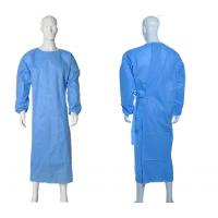 Best Isolation Disposable Medical Gowns , Disposable Plastic Gowns PP Material wholesale