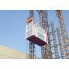 Best Construction Building Passenger And Material Hoist , 2700kg Capacity wholesale