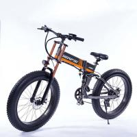 Best 21 Speed Off Road Ebike , Snow Electric Mountain Bicycles Fat Tire 26 Inch wholesale