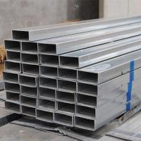Best Cold Rolled 2 X 4 Rectangular Steel Tubing , Welded Pre Galvanized Steel Pipe wholesale