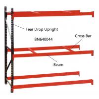China BN640034 Industrial Pallet Racks Heavy Duty Warehouse Shelving 2 Inch Adjustable Beam on sale