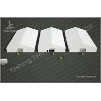 Quality 25x50 M Logistics Outdoor Warehouse Tents , Clear Span Fabric Buildings wholesale