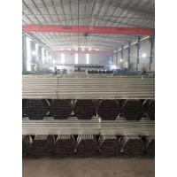 Best Q235 Carbon Steel Rolled And Welded Pipe , Galvanized Steel Pipe For Greenhouse wholesale