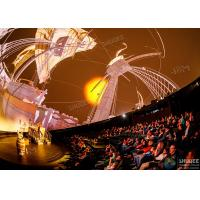 Best Stimulate Immersive Experience 4D Dome Movie Theater For Shopping Mall wholesale