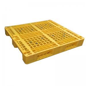 Best Euro type HDPE single faced grid 9 feet plastic pallet wholesale