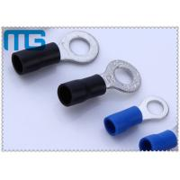 Best Corrosion Resistance Blue / Black Copper Ring Terminals A.W.G. 14 - 12  / 16-14 wholesale
