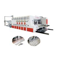 Best Automatic Flexo Printing And Die Cutting Machine For Corrugated Carton wholesale