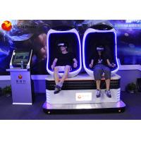 Best Egg Shape Virtual Reality Motion Simulator For Shopping Mall / Business Street wholesale