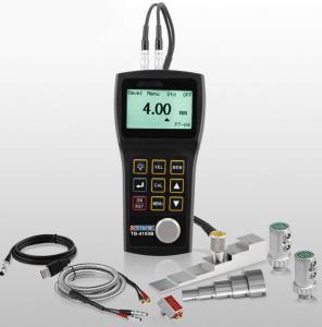 China High Precision Measuring TG4100B Ultrasonic Thickness Gauge 128X64 Pixel LCD on sale