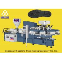 Plastic / Canvas Shoe Sole Making Machine 10 / 12 Stations with 2 Years Gurantee for sale