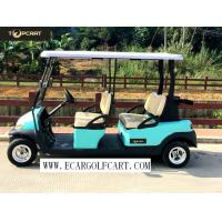 Quality 48V 6 Passenger Electric Golf Cart With Aluminum Chassis For Transportation wholesale