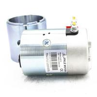 Best 2700Rpm Hydraulic 24v Electric Motor 2.2KW N2024 Silver Color With Shaft wholesale