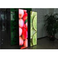 Buy cheap Advertising Signage LED Poster Display Screen Stand For Showcase from wholesalers