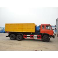 Quality Dongfeng 153 6*4 16cbm hook lifter garbage truck, high quality and best price 16cbm swing arm garbage truck for export wholesale