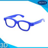 Quality Cinema Reald 3D Polarized Glasses For Kids , ABS Frame 0.19-0.38mm lens wholesale