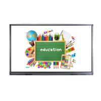 Best Infrared 10 Point Large Touch Screen Monitor , Smart Board Touch Screen Lcd Display 86 Inch wholesale