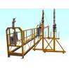 Best Steel / Aluminum Alloy Adjustable Powered Rope Suspended Window Cleaning Platform Cradle wholesale