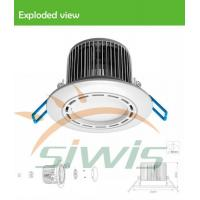 Best Dimmable Led Recessed Downlights 7 Watt 700lm 120 Degree 85-265vac wholesale
