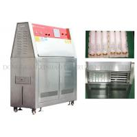 Best Simulated Climate UV Aging Test Chamber Electric Driven Humidity Range 10% - 95% wholesale
