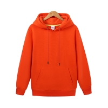 Buy cheap Custom Hoodie Pullover Sweatshirt Mens Blank Orange Plain Hoodies High Quality from wholesalers