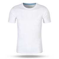 Best Wholesale Custom Printed 100% Polyester Sports Men's And Women's T-Shirts wholesale