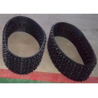 Buy cheap Black Color Snowmobile Parts Tracks , Snowmobile Parts Tracks High Performance from wholesalers