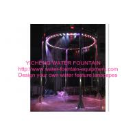China Digital Musical Graphical Water Curtain Artificial Waterfall Fountain For Shows on sale