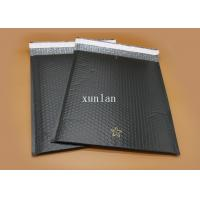 Best No Fading Flat PolyBubbleMailers , No Permeation Black Bubble Mailers wholesale