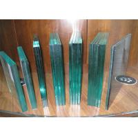 Best Bullet Proof Laminated Security Glass / Clear Laminated Glass For Bank wholesale