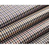 100% Polyester Yarn-dyed Plaid Memory Fabric for Garments,Jackets and Trousers
