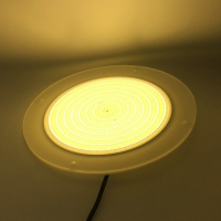 Buy cheap Resin Filled Round Warm White 3500K LED Resin Light from wholesalers