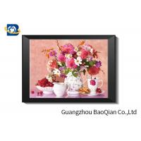 Best Eco - friendly Flowers 3D Lenticular Pictures For Home Decoration A3 A4 Size wholesale