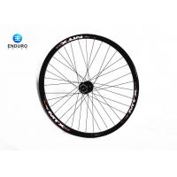 Best Black Aluminum Alloy Enduro Bike Accessories 26 Inch Front Wheel With 20mm Hub wholesale