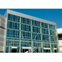 Best Wind Pressure Aluminium Alloy Curtain Wall With Low-E Glaess For Large Building wholesale