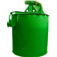 Gold Pulp Mixing Equipment Agent 0.7m3 Agitation Tank for sale