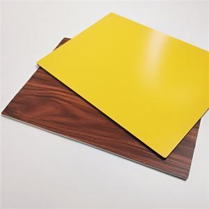 Best 3mm,5mm,6mm Thick Wood Grain Aluminum Composite  Panel For Indoor Outdoor Decoration wholesale