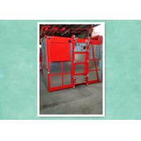 High Efficiency Rack And Pinion Elevator Hoist With Anti-Fall Safety Device