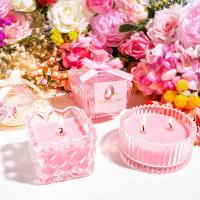 Best Lightweight Perfume Scented Candles Soy Wax Material Elegant Looking wholesale