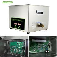 Buy cheap Digital 30l 600w Heater Ultrasonic Cleaner 1-30 Minutes Timer For Oil Metal from wholesalers