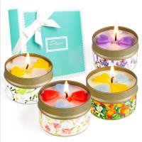 Best Customized Logo Home Scented Candles Home Fragrance Candles Luxury Four Piece Gift Set wholesale