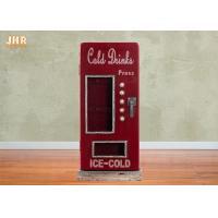 Best Beverage Machine Key Box Decorative Wooden Cabinet MDF Key Holders Wood Wall Key Box Red Color wholesale