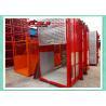 Quality Dobule Cabin Rack And Pinion Hoist For Power Plants / Bridges Building wholesale