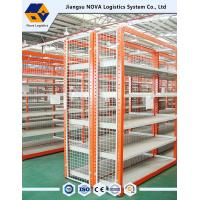 Best Long Span Metal Storage Shelving 50mm Pitch for supermarket with steel panel or mire mesh wholesale