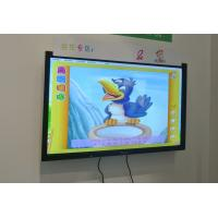 Hot sale 55 to 84 inch interactive tv touch screen whiteboard, all in one pc touch screen monitor with 4K UHD Resolution